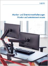 Katalog Monitor- und Entertainmenthalterungen