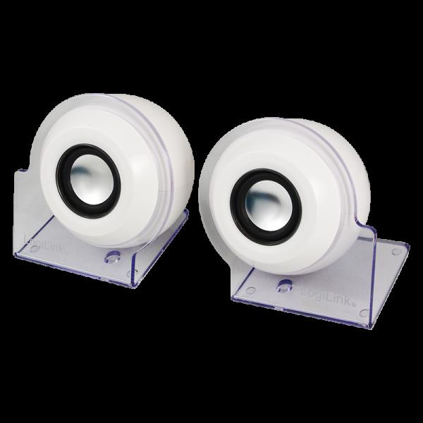 Aktivlautsprecher Stereo 2.0 mit USB Power