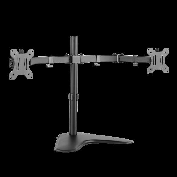 "2-fach Monitorständer, 13–32"", Stahl, Armlänge: je 460 mm"