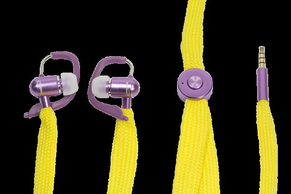 Headset mit Freisprechfunktion, UniqueLace, gelb