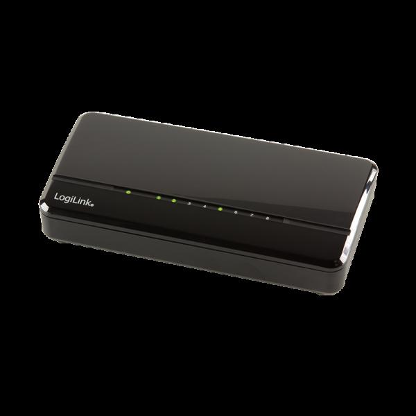 8-Port Fast Ethernet Desktop Switch