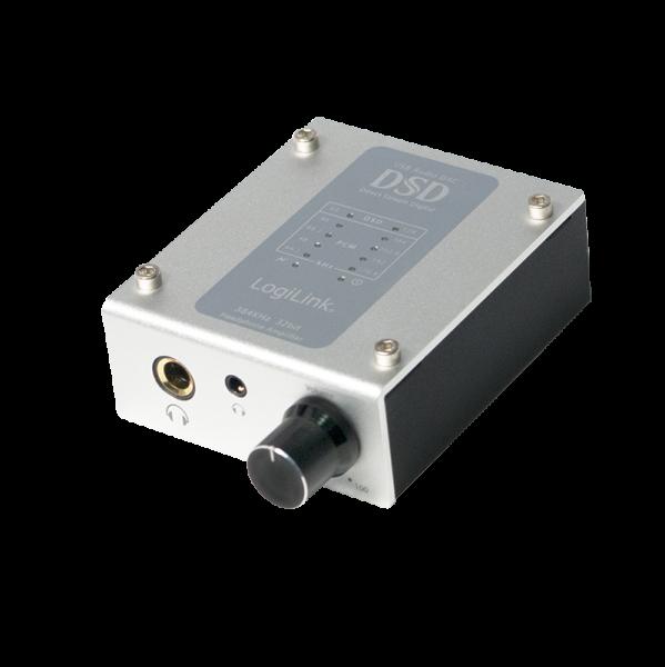 384 kHz / 32 bit DSD USB Audio DAC