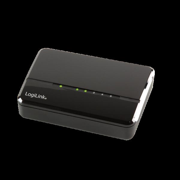 5-Port Fast Ethernet Desktop Switch