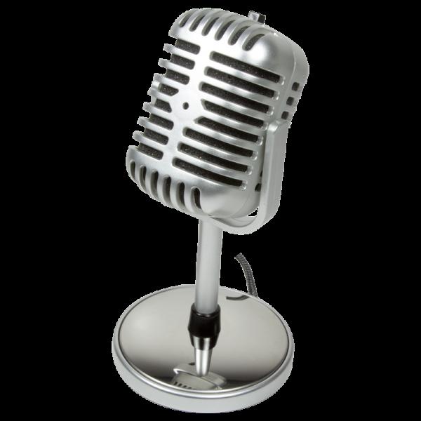 Mikrofon im Retro Style