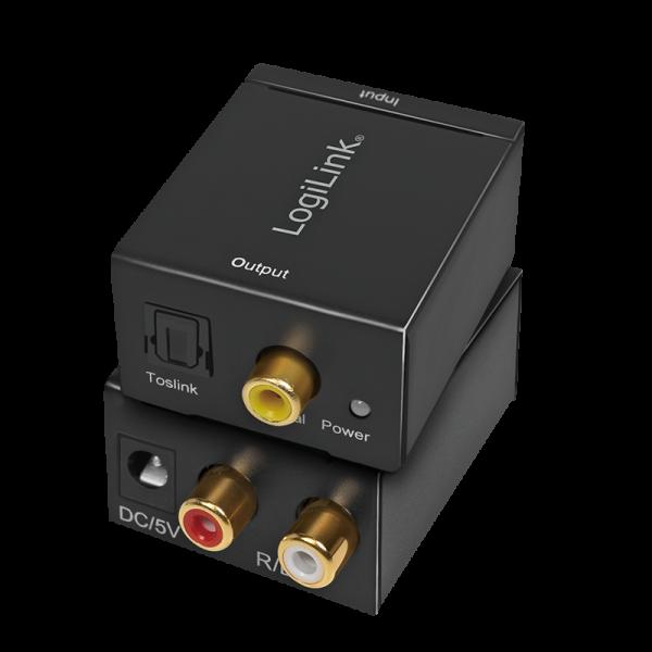 Analog L/R zu Koaxial und Toslink Audio-Konverter