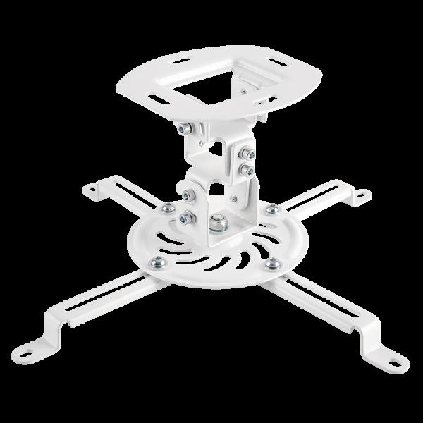 Beamerhalterung, Armlänge 150 mm, weiß