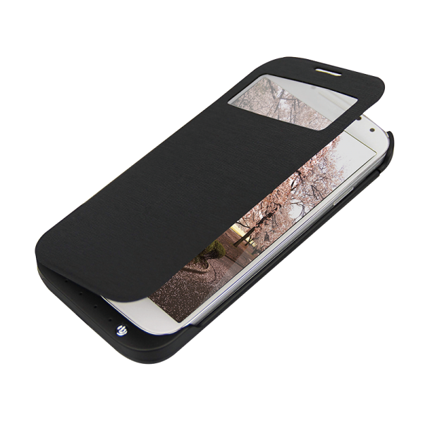 Schutzhülle für Samsung Galaxy S4 mit integriertem 3200 mAh Akku