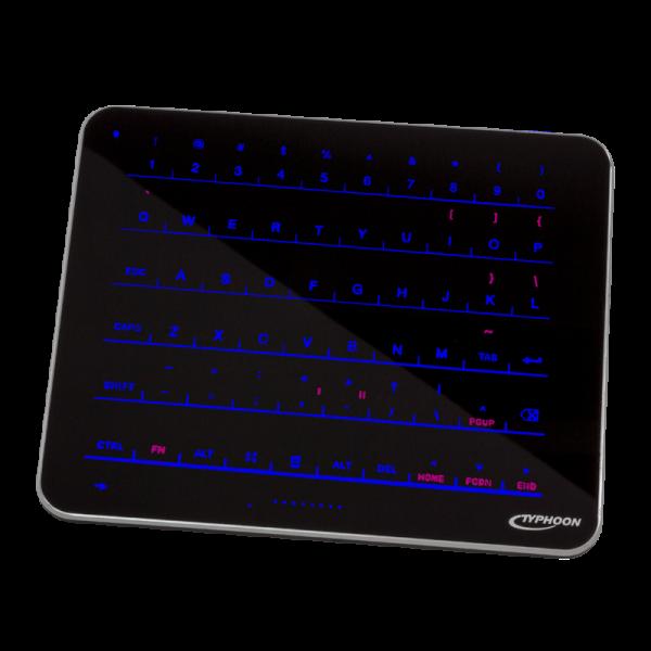 Kabellose Easy-Touch Glastastatur, SmartRemote