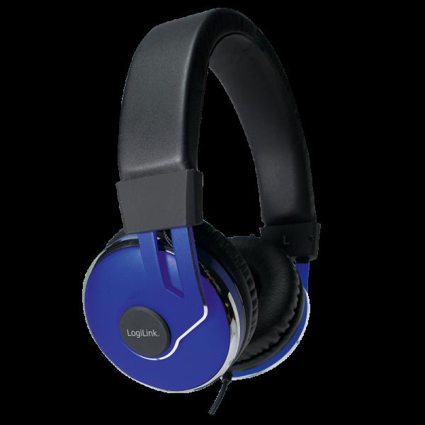 On-Ear Stereo Headset mit extra weichen Polstern