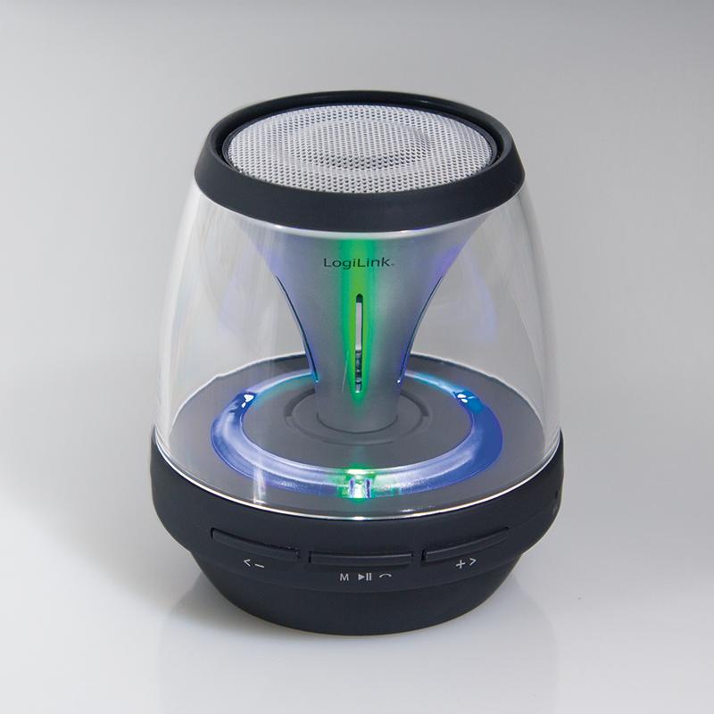 discolady 2go kabelloser lautsprecher mit fm radio und. Black Bedroom Furniture Sets. Home Design Ideas