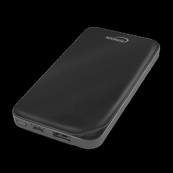 Powerbank 8000 mAh, Lithium-Polymer, 1x USB, black