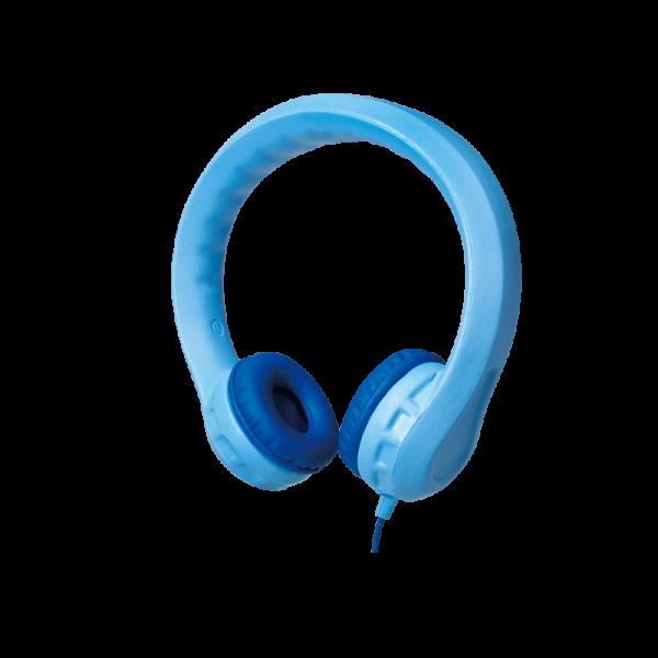 Gepolsterter, Kindersicherer Kopfhörer, blau