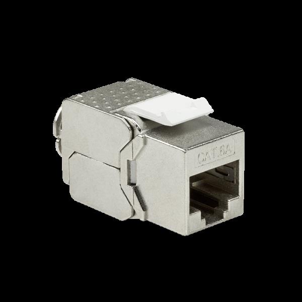 Cat.6A Keystone Buchse STP AWG22-26 16 mm breit