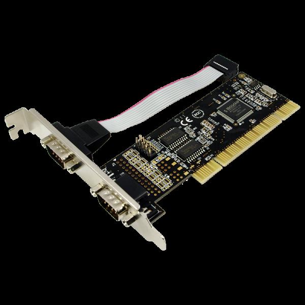PCI Schnittstellenkarte Seriell 2x