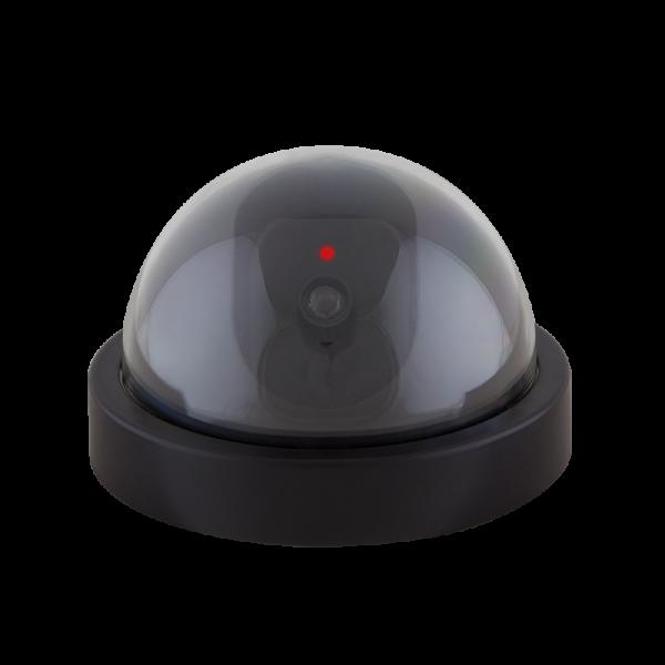 Überwachungskamera-Attrappe, schwarz